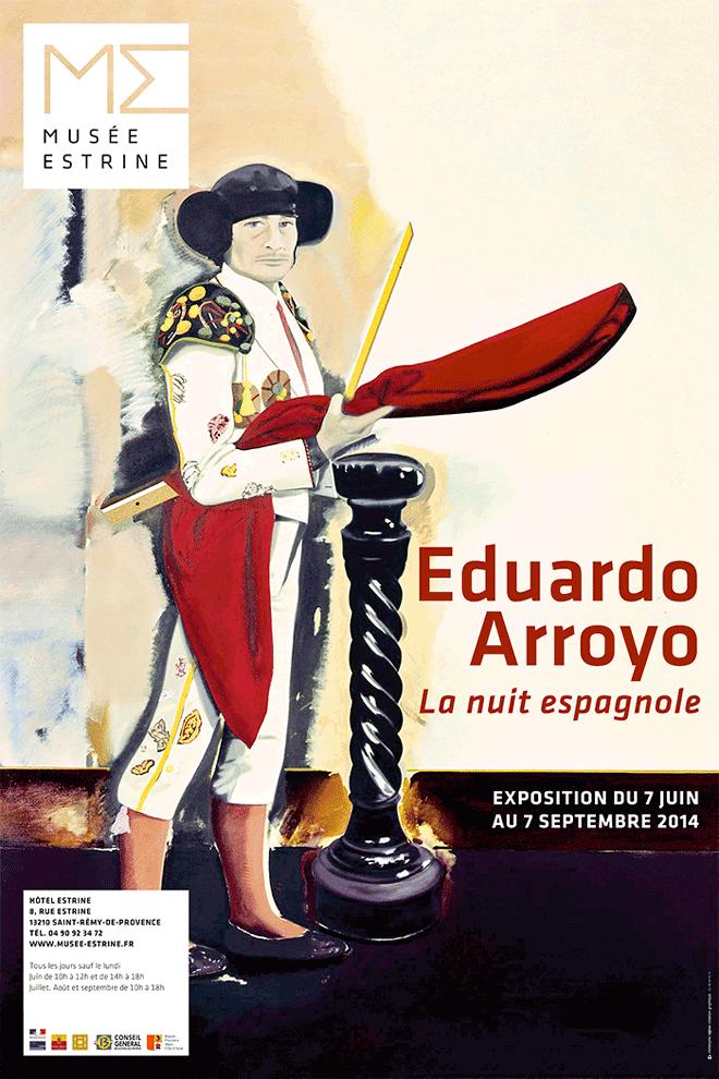 2014-EduardoArroyo-affiche