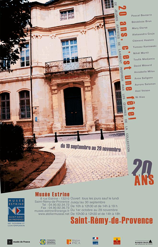 20ans musee estrine saint remy de provence13210