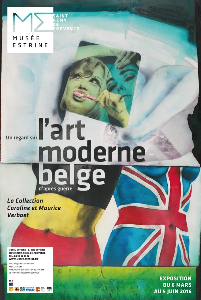 art moderne belge musee estrine saint remy de provence 13210