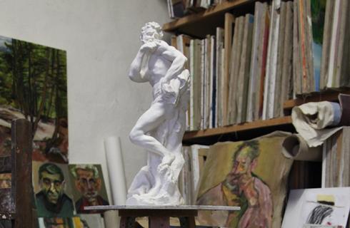 atelier artistes musee estrine saint remy 13210