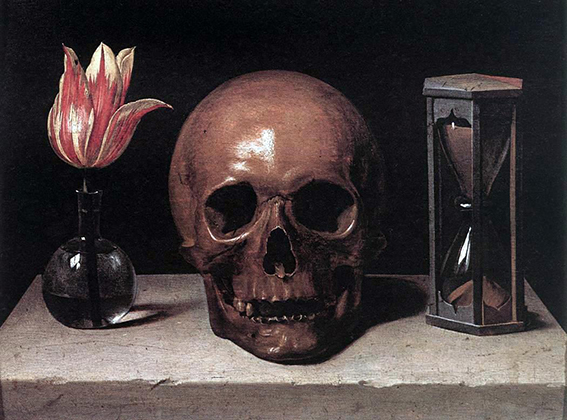 Philippe de Champaigne Still Life with a Skull web