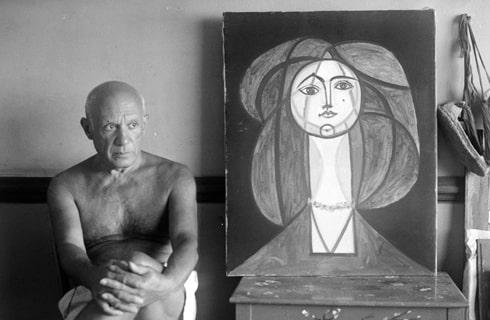 Françoise Gilot, Pablo Picasso dans l'œil de Michel Sima