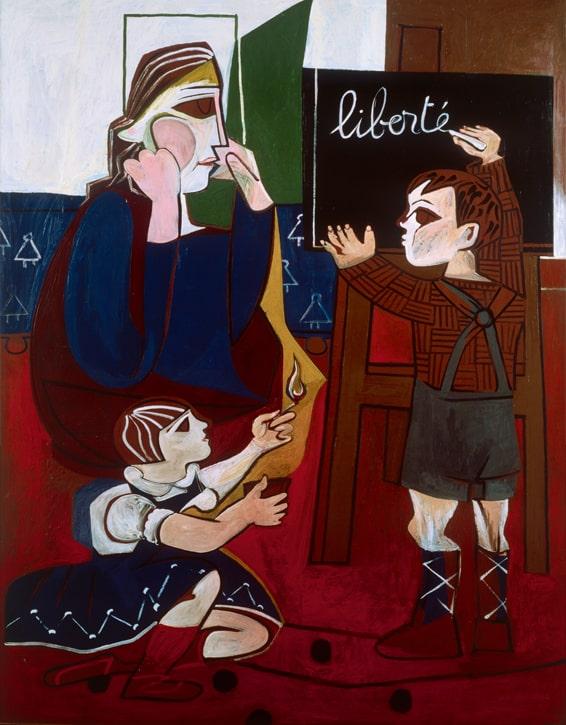 Musee Estrine Francoise Gilot Liberte min